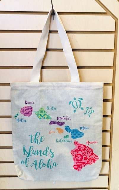 Small Tote Bag - Islands