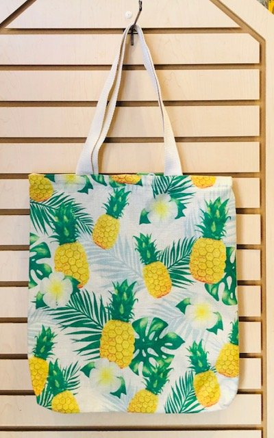 Small Tote Bag - Pineapples