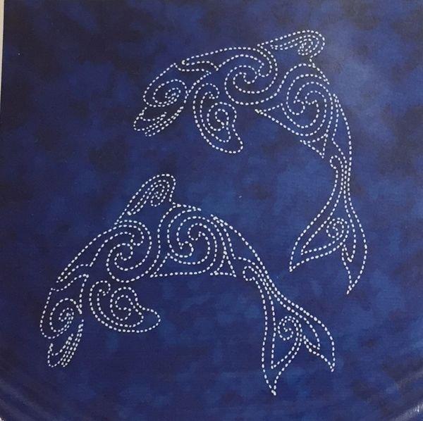 Sea Life Panel Spinner Dolphin