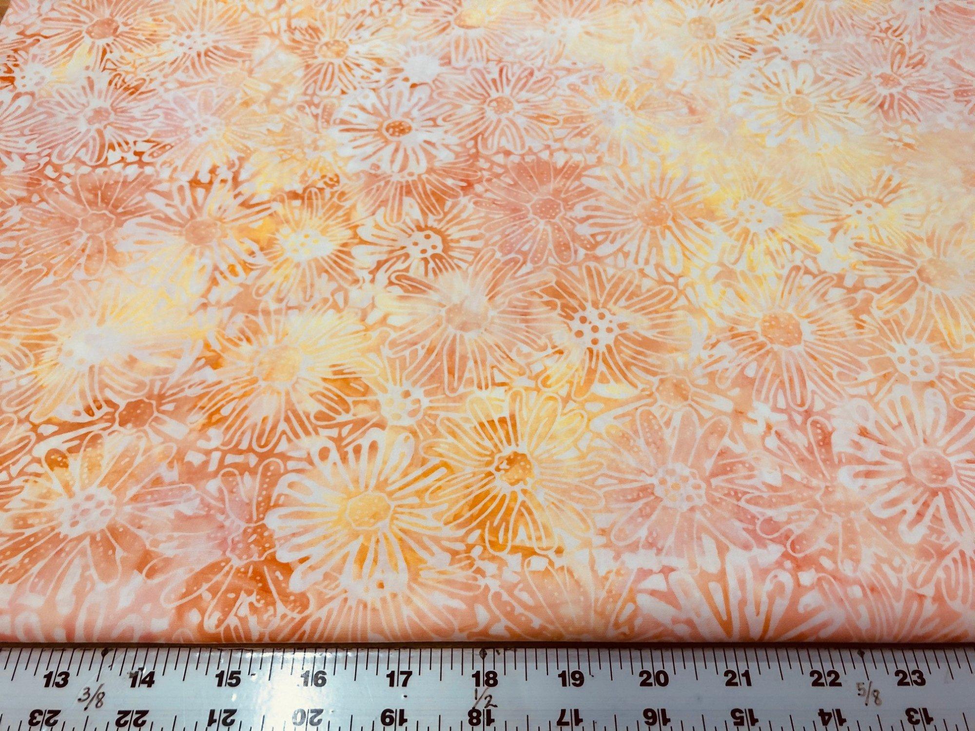 Sunshine Blossom  batik