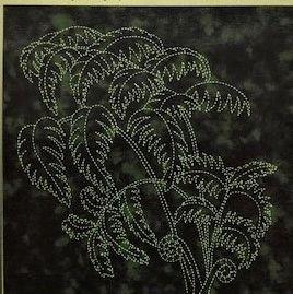 Tropical Foliage Panel Tree Fern