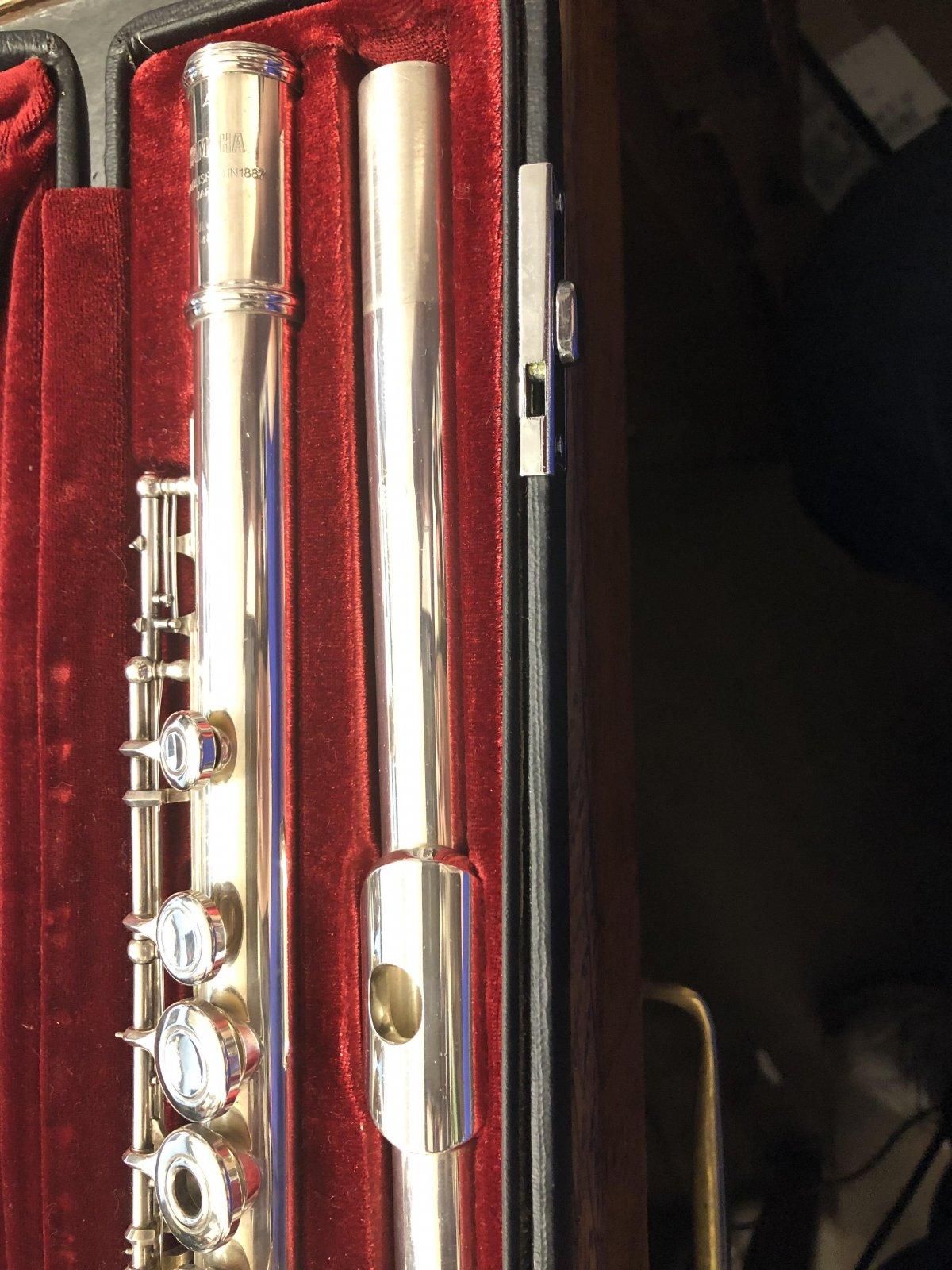 Yamaha Silver Flute (Used)