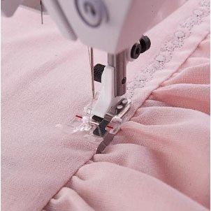 7393033037673 Clear B Edge stitching foot