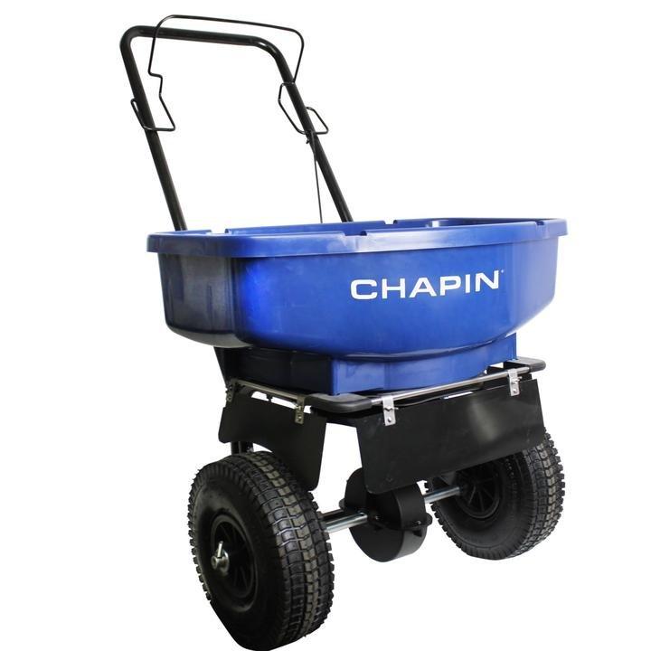 Salt Spreader Chapin 80 lb capacity salt residential style (ASSEMBLY $60)  81008