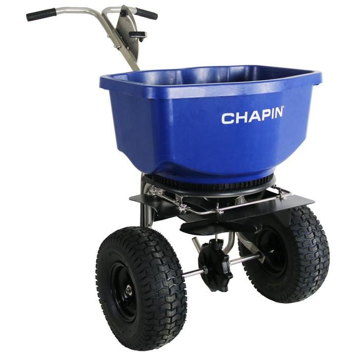 Salt Spreader Chapin Wide Mouth up to 100 lb ASSEMBLY $60