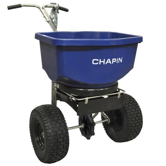 Salt Spreader Chapin 100lb capacity ASSEMBLY $60