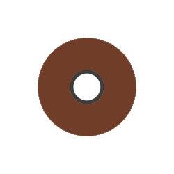 Magna-Glide Delights L - #20478 Rust Brown - Jar of 20 Bobbins