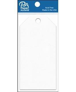 Craft Tags 2.5x5.25 25pc White