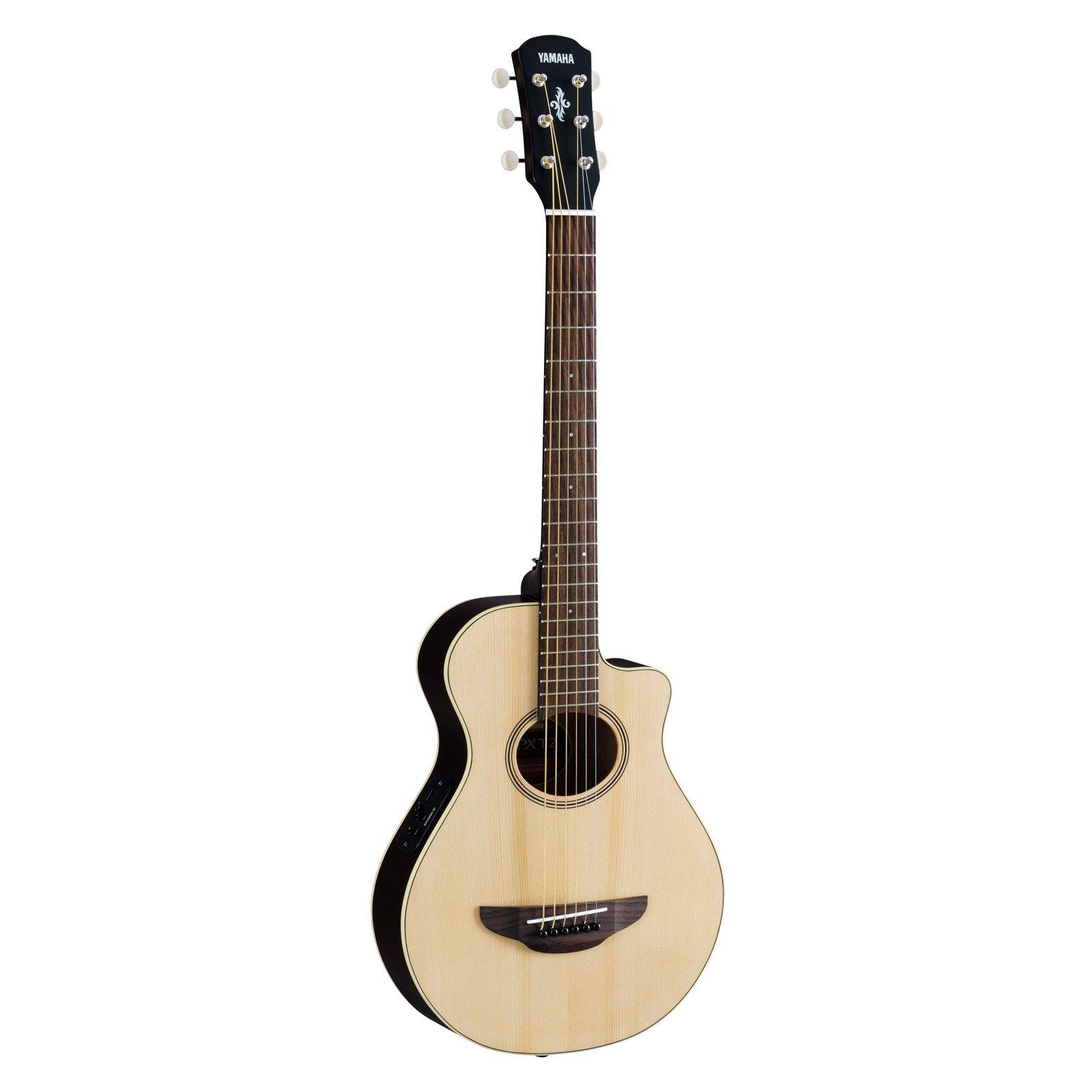 Yamaha 3/4 Size Acoustic Electric Cutaway Guitar w/Gigbag- Natural