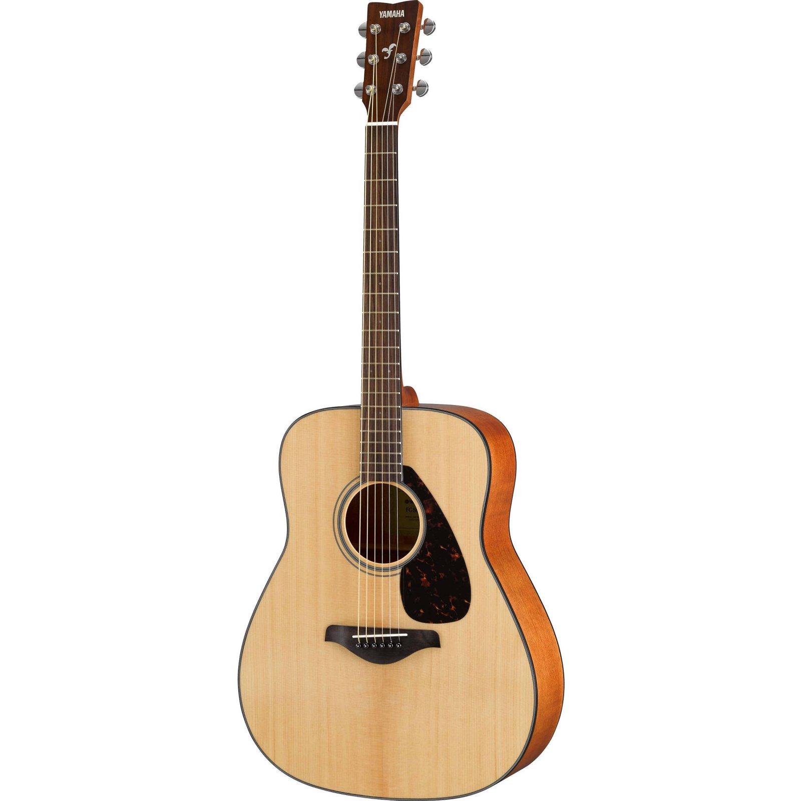 Yamaha FG800 Folk Guitar-Solid Spruce Top, Nato BS