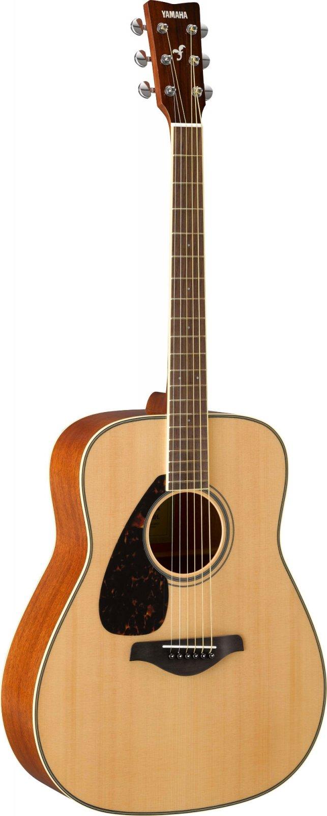 Yamaha FG820 Left-Handed Folk Guitar - Solid Spruce Top, Mahogany BS