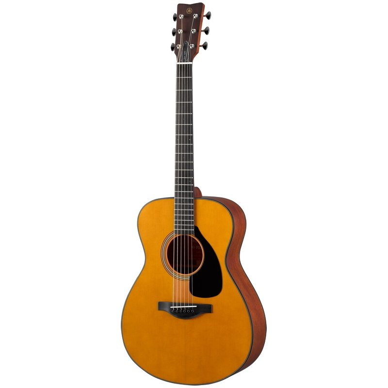 Yamaha FS5 Red Label Acoustic Small Body Guitar w/Solid Sitka Spruce Top, Solid Mahogany B/S, African Mahogany Neck, Ebony Fingerboard-Natural