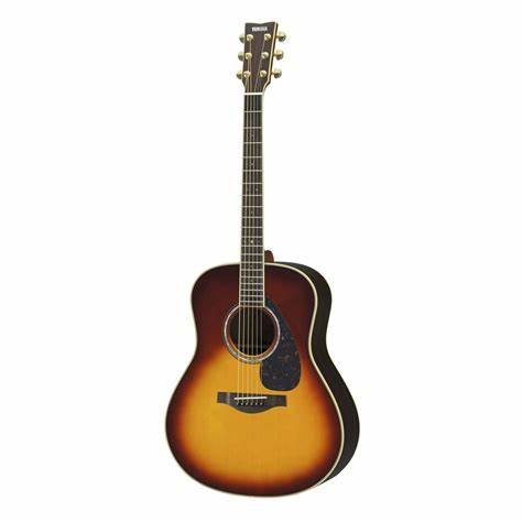 Yamaha LL6R L Series Dreadnought Acoustic-Electric Guitar Solid Engleman Spruce Top, Rosewood B/S  Brown Sunburst