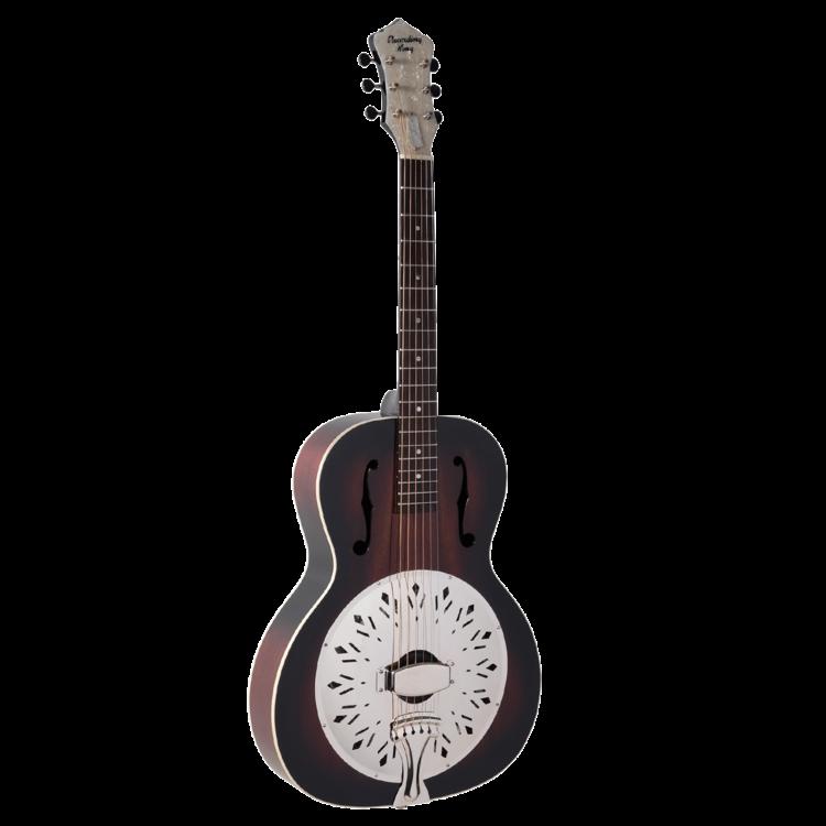 Recording King Rattlesnake Resonator Guitar Mahogany Body