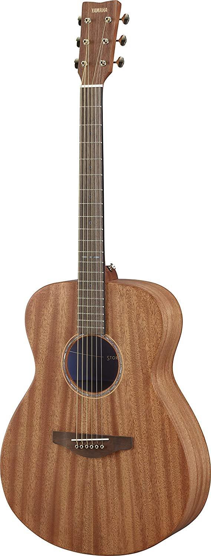 Yamaha Storia II Small Body Guitar - Solid Top Mahogany, Mahogany BS, Passive Pickup, Natural