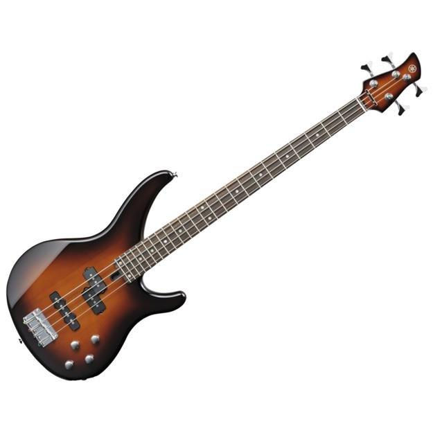 Yamaha 4-String Electric Bass Guitar-Old Violin Sunburst