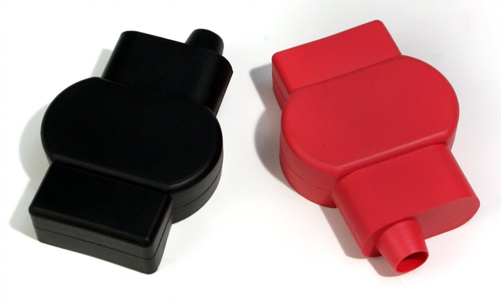 Military Battery Terminal Covers (single cable - left entry)
