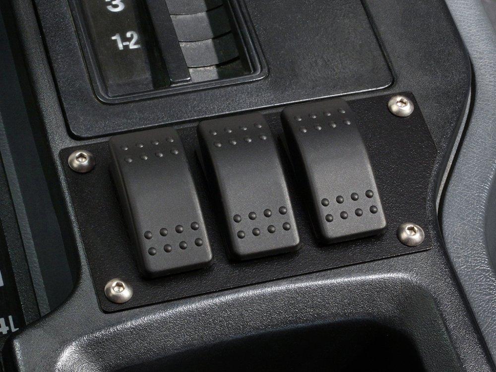 '84 - '96 Cherokee 3 Carling Rocker Switch Panel