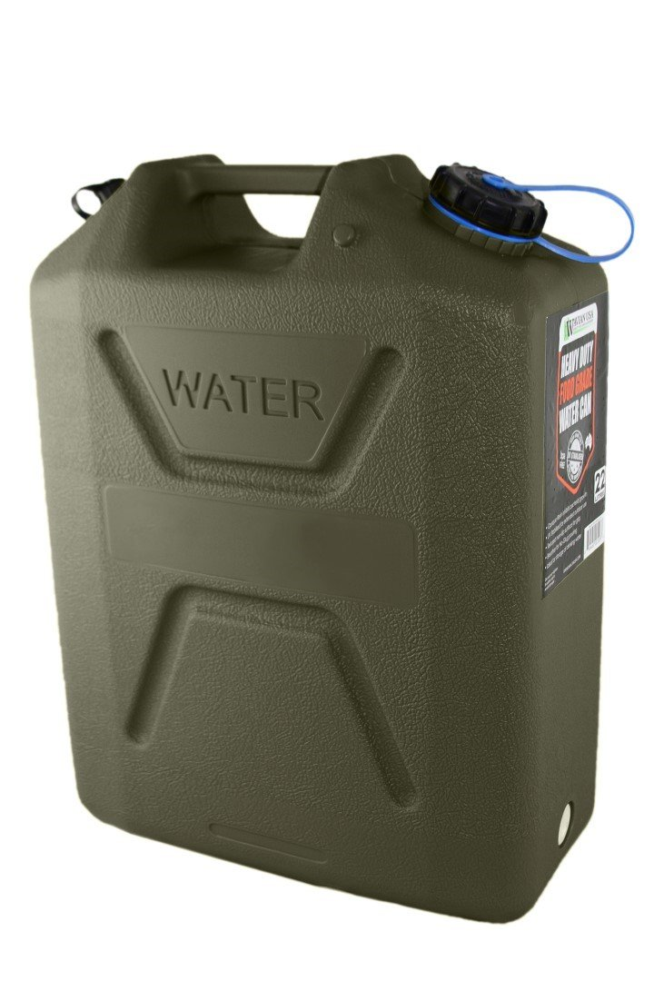 Wavian 22 Liter (5.8 Gallon) Heavy Duty Water Can - Free US 48 State Shipping