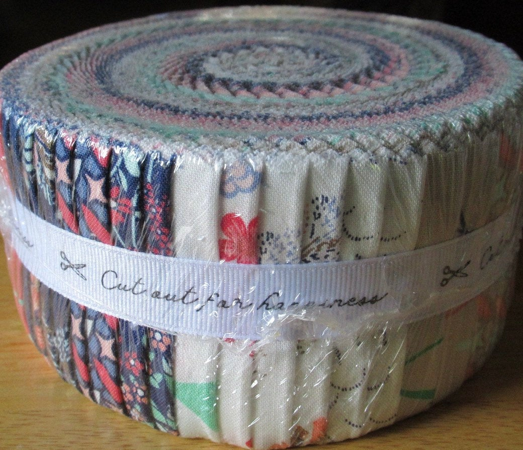 Boundless fabric jelly roll