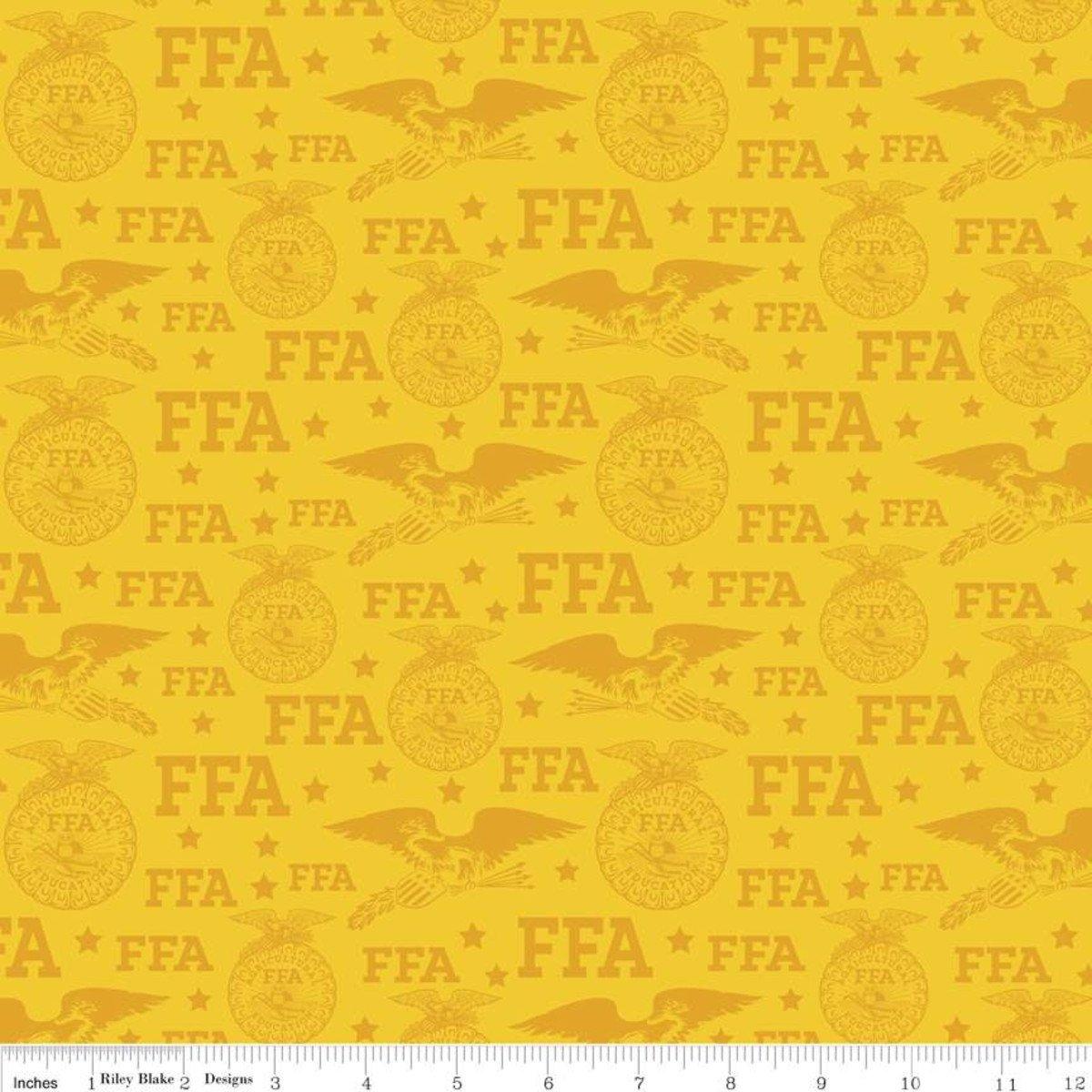 FFA® Forever Blue® Logo Gold