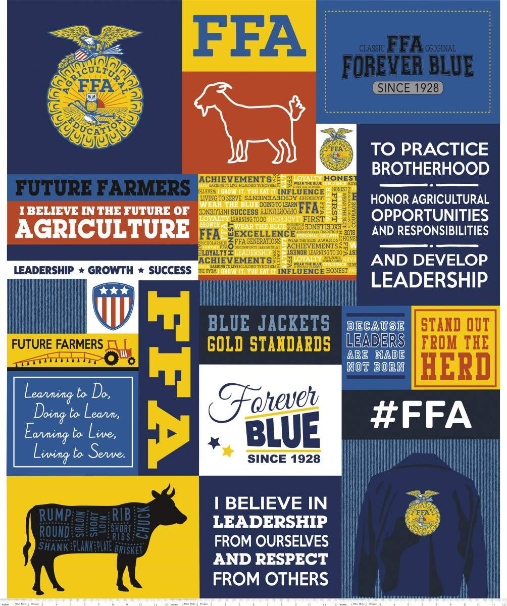 FFA® Forever Blue® Panel Blue