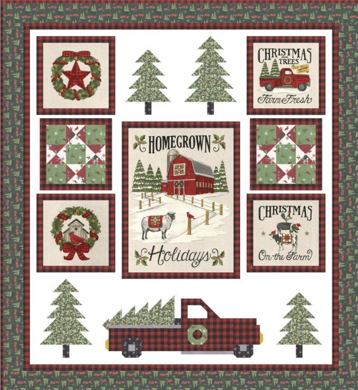 Homegrown Holidays by Deb Strain for Moda Fabrics 54x58