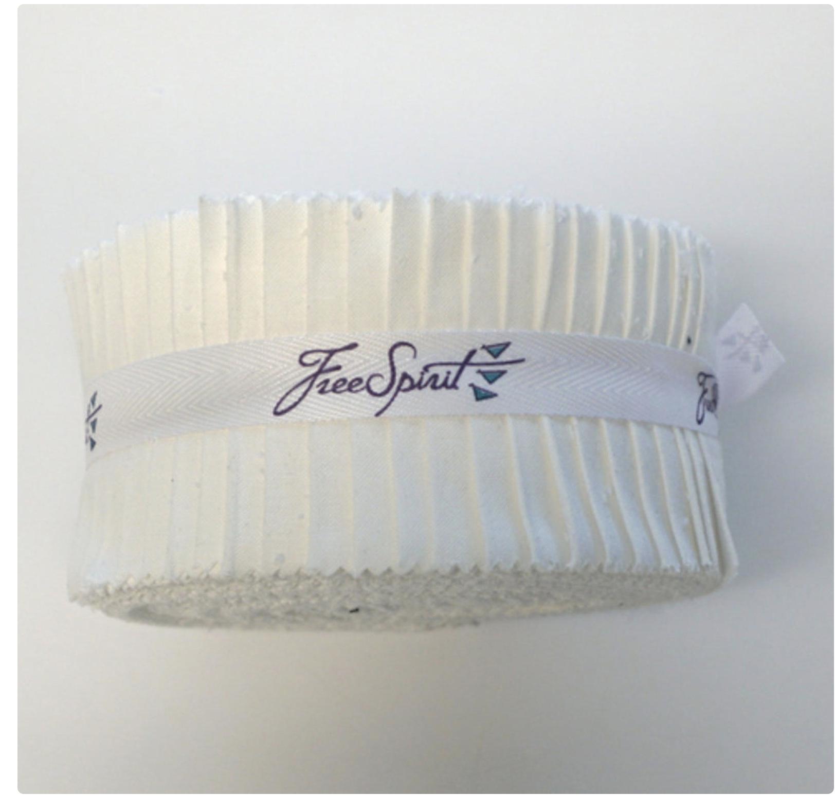 Free Spirit - Arctic White-Precut - Design Roll -