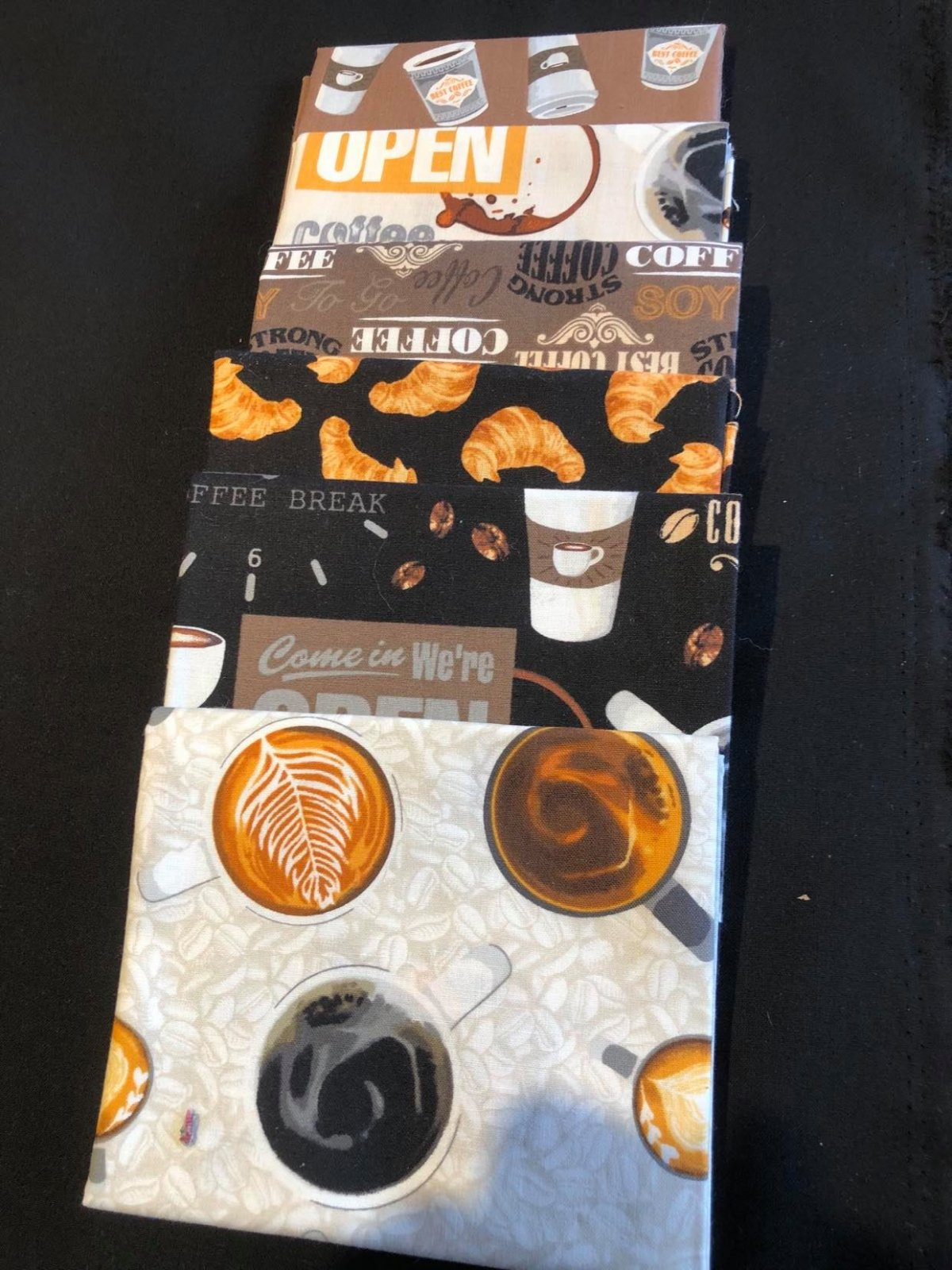 Coffee Shop from Windham Fabrics  6 FQ BDL