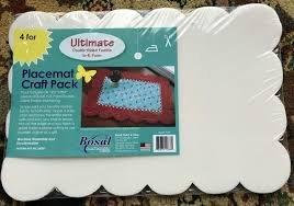 Bosal Scalloped Foam Placemats