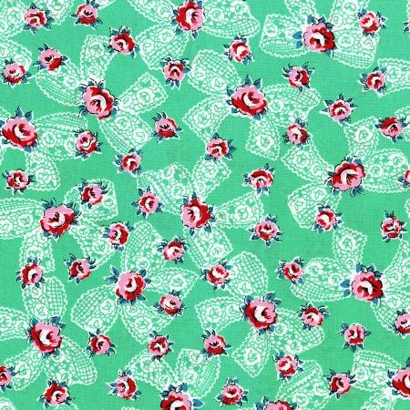 Everything But The Kitchen Sink XII  Spring Green Fabric