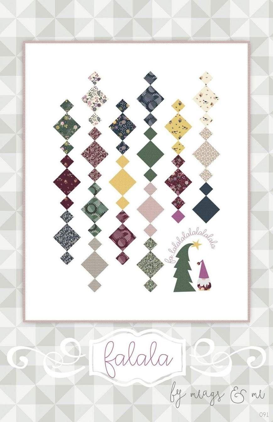 Falala Diamonds and Gnomes Quilt Pattern