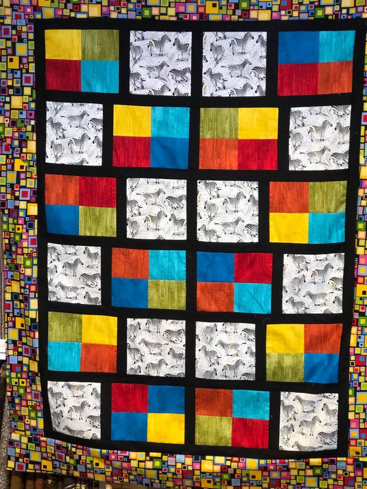 Tiles Quilt Kit