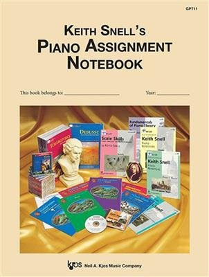 Keith Snell's Piano Assignment Notebook