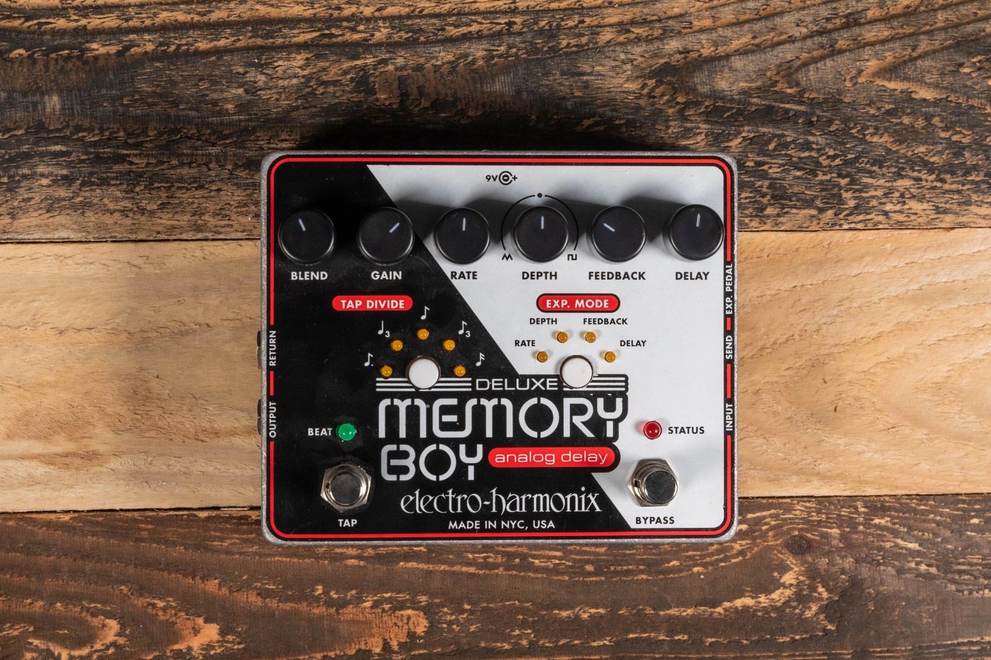 Electro Harmonix Deluxe Memory Boy w/ Tap Tempo