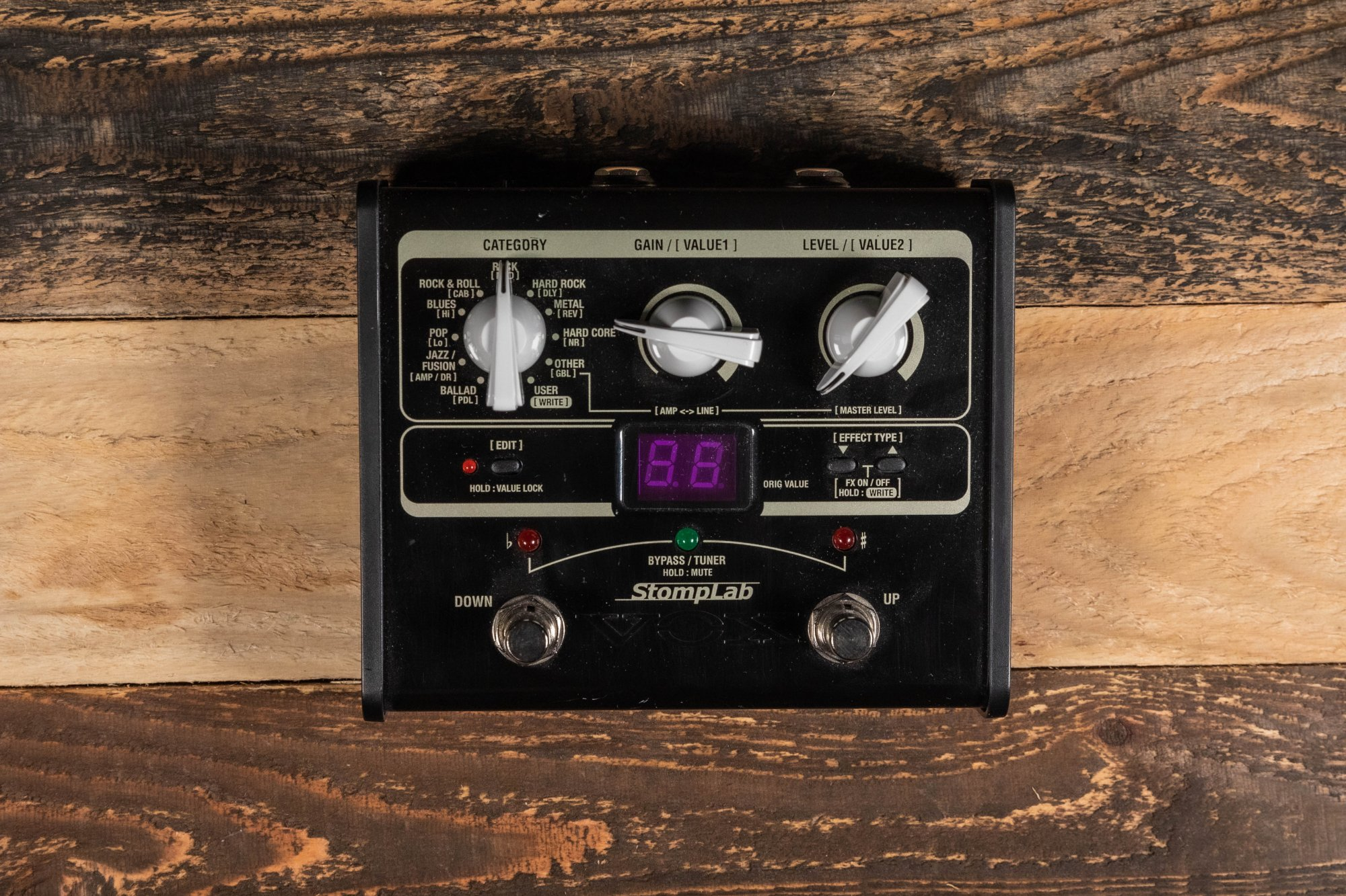 Vox StompPad Guitar Effects Pedal