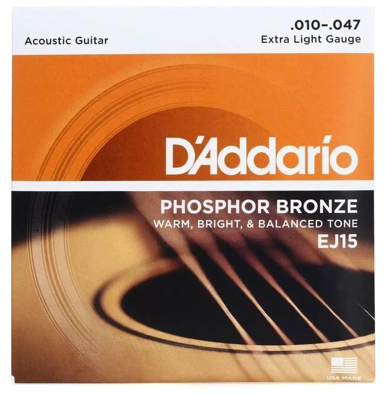 D'Addario EJ15 10-47 Phosphor Bronze