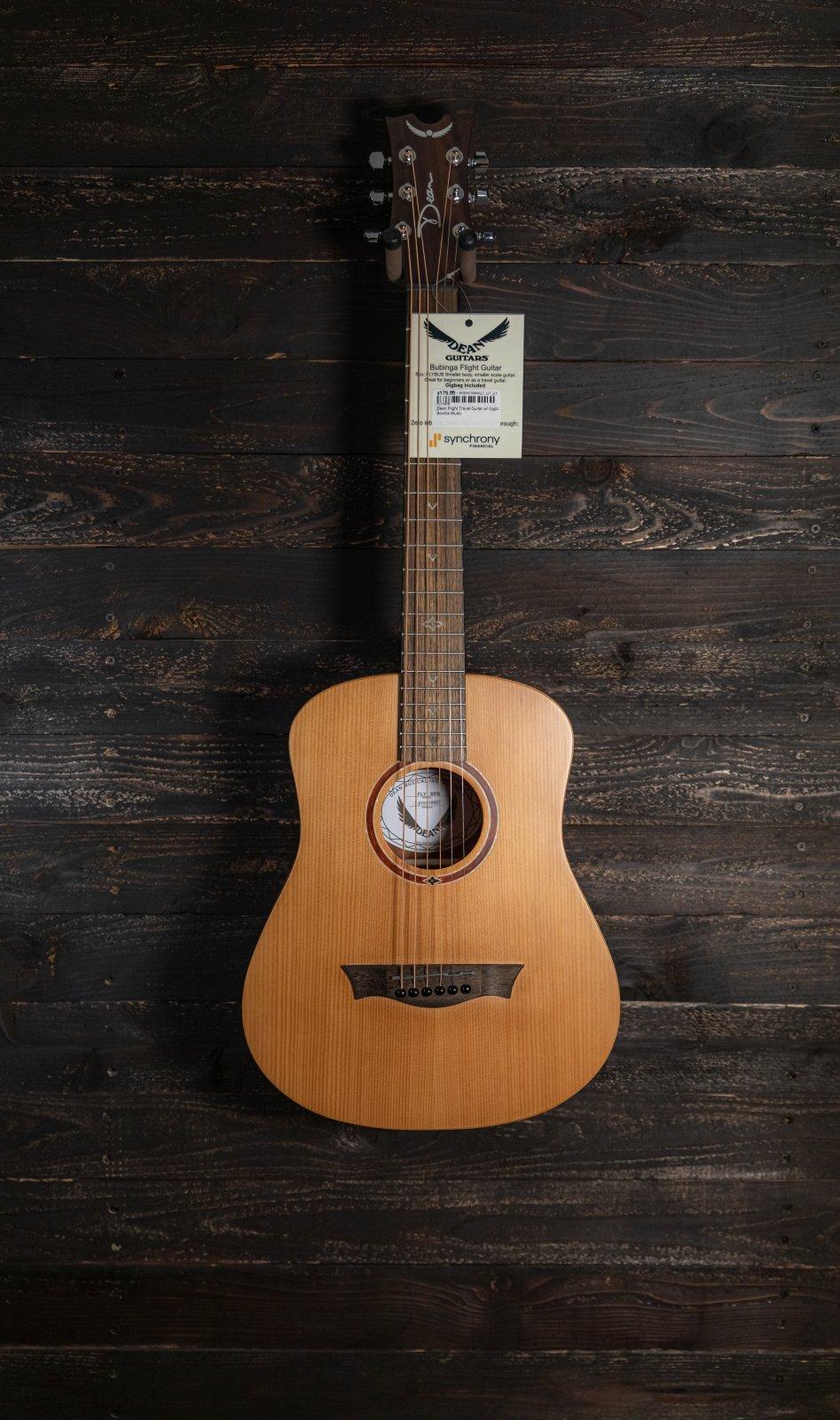Dean Flight Travel Guitar w/ Gigbag - Sp