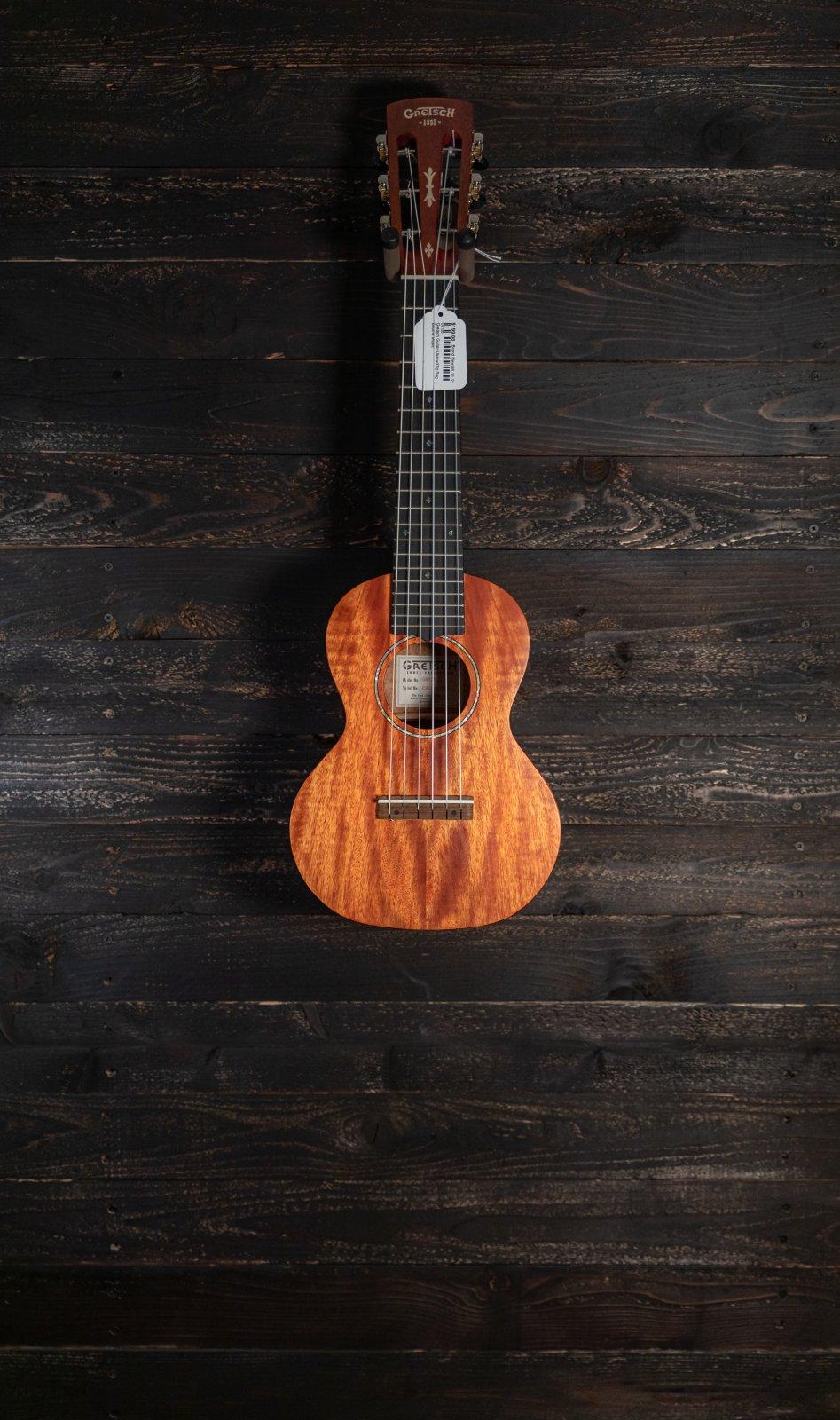 Gretsch G9126 Guitar-Ukulele - Honey Mahogany Stain