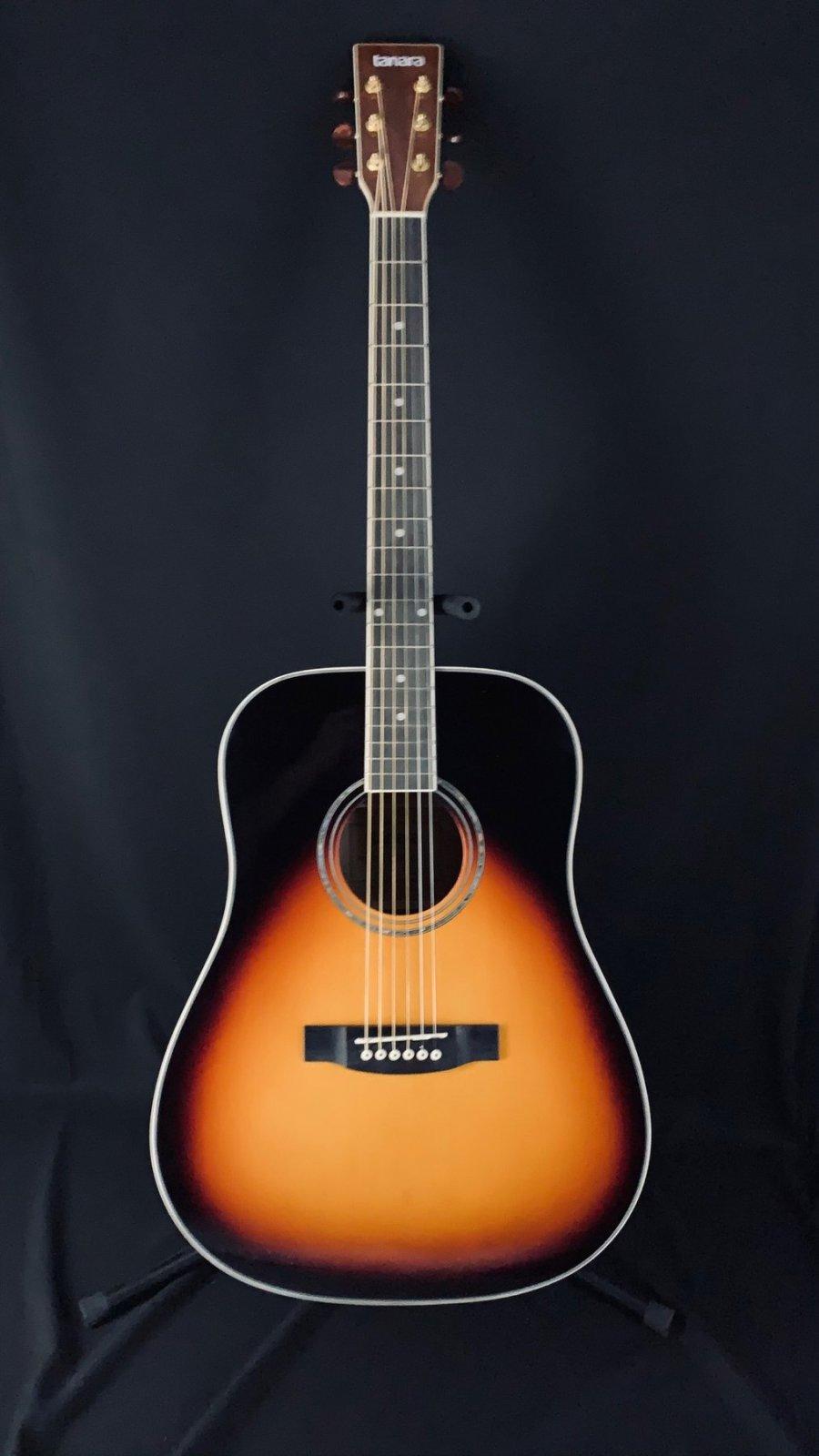 Tanara Grand Concert Acoustic Vintage Sunburst
