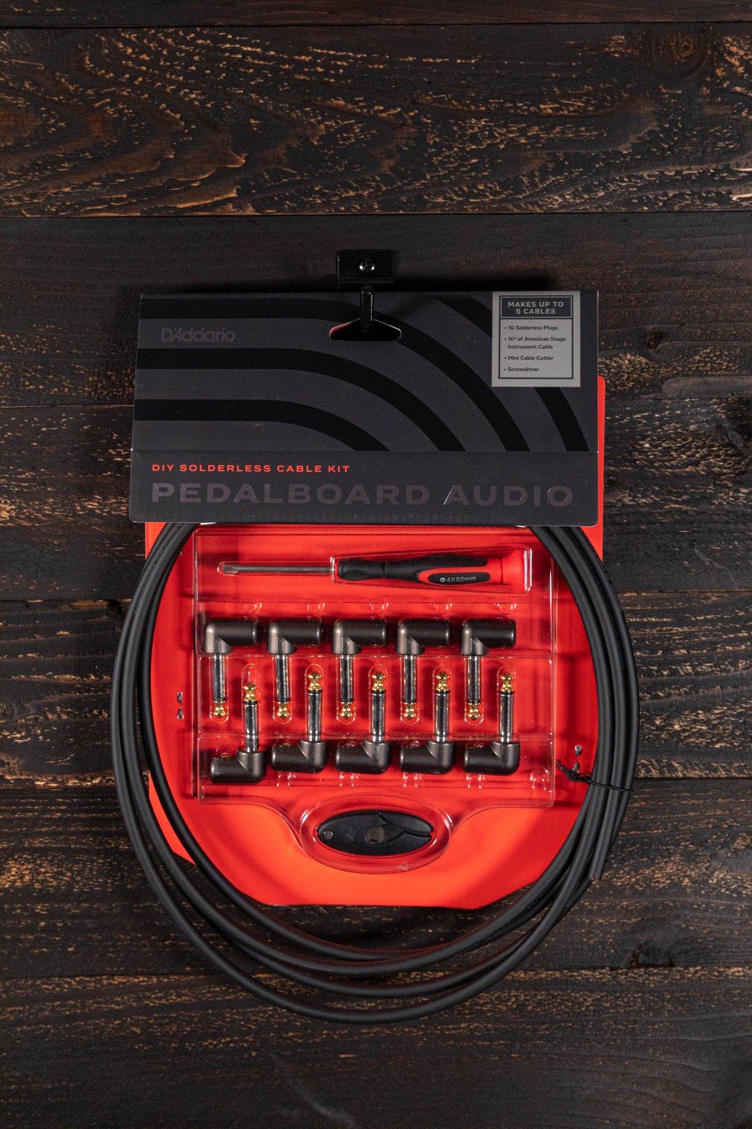 Bullet Cable 5 Pedal DIY Kit