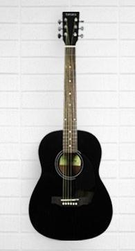 Tanara 3/4 Acoustic Guitar Black