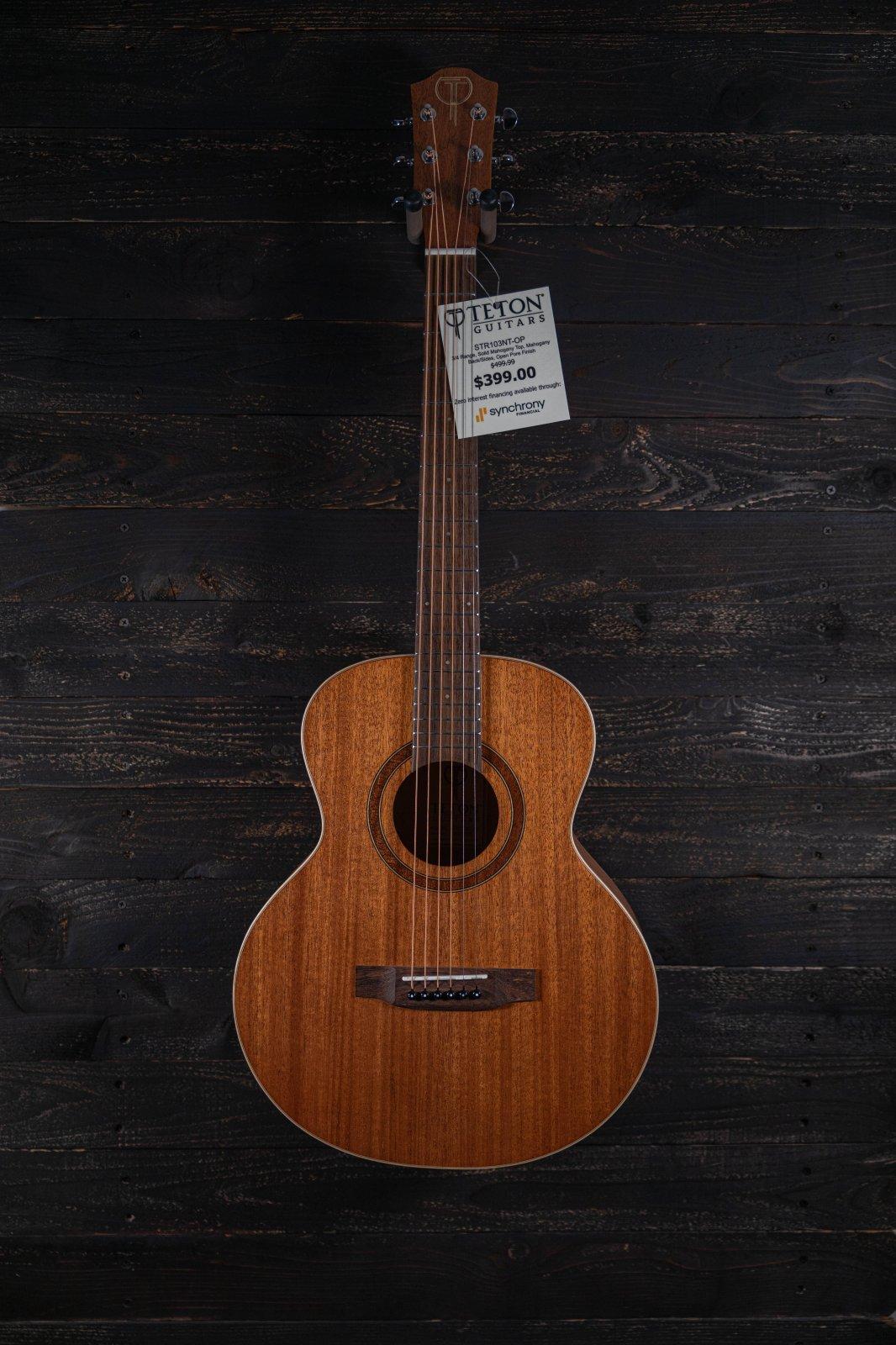 Teton STR103NTOP Acoustic Guitar