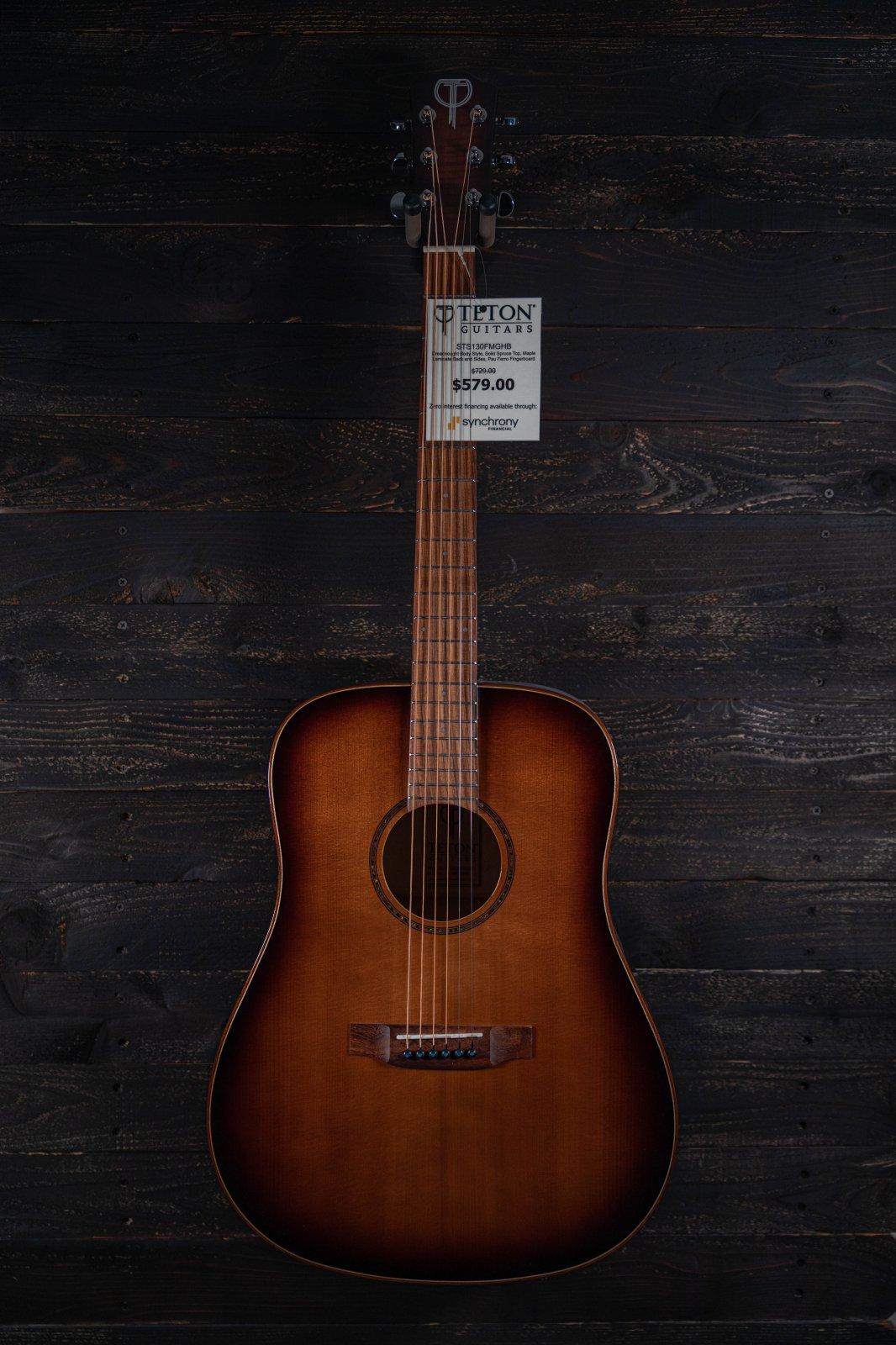 Teton STS130FMGHB Acoustic Guitar