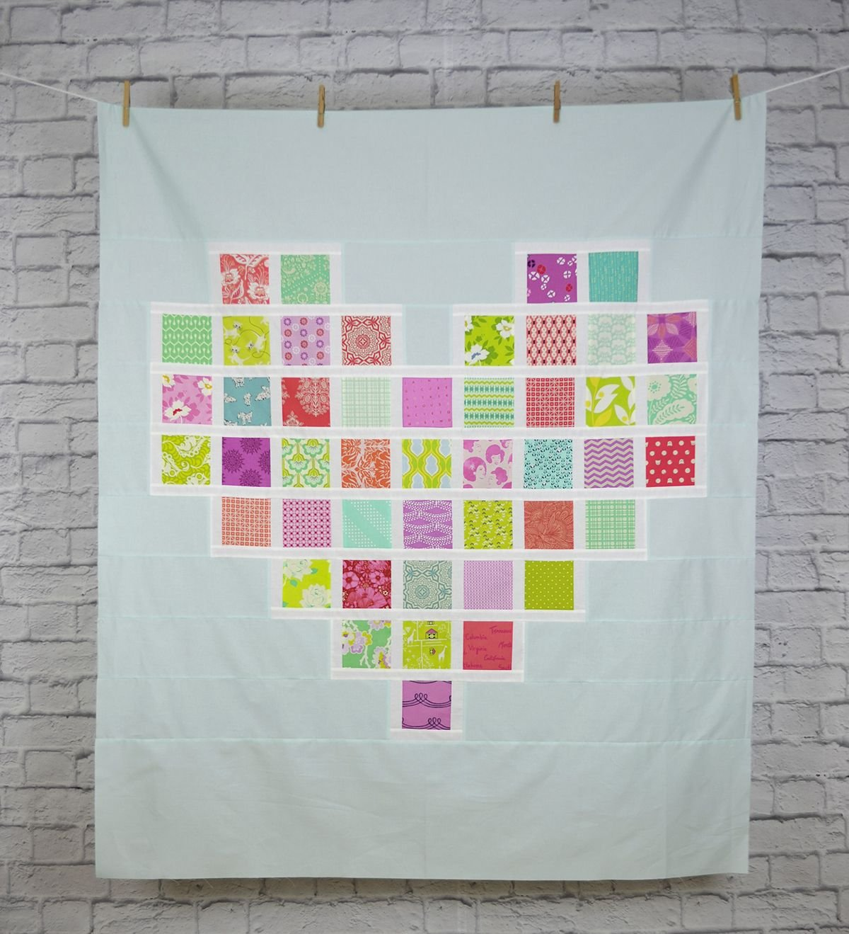 Corinne Sovey Patterns - Full Hearts, Quilt Pattern #102