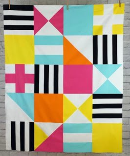 Corinne Sovey Patterns - Block Party, Quilt Pattern #104