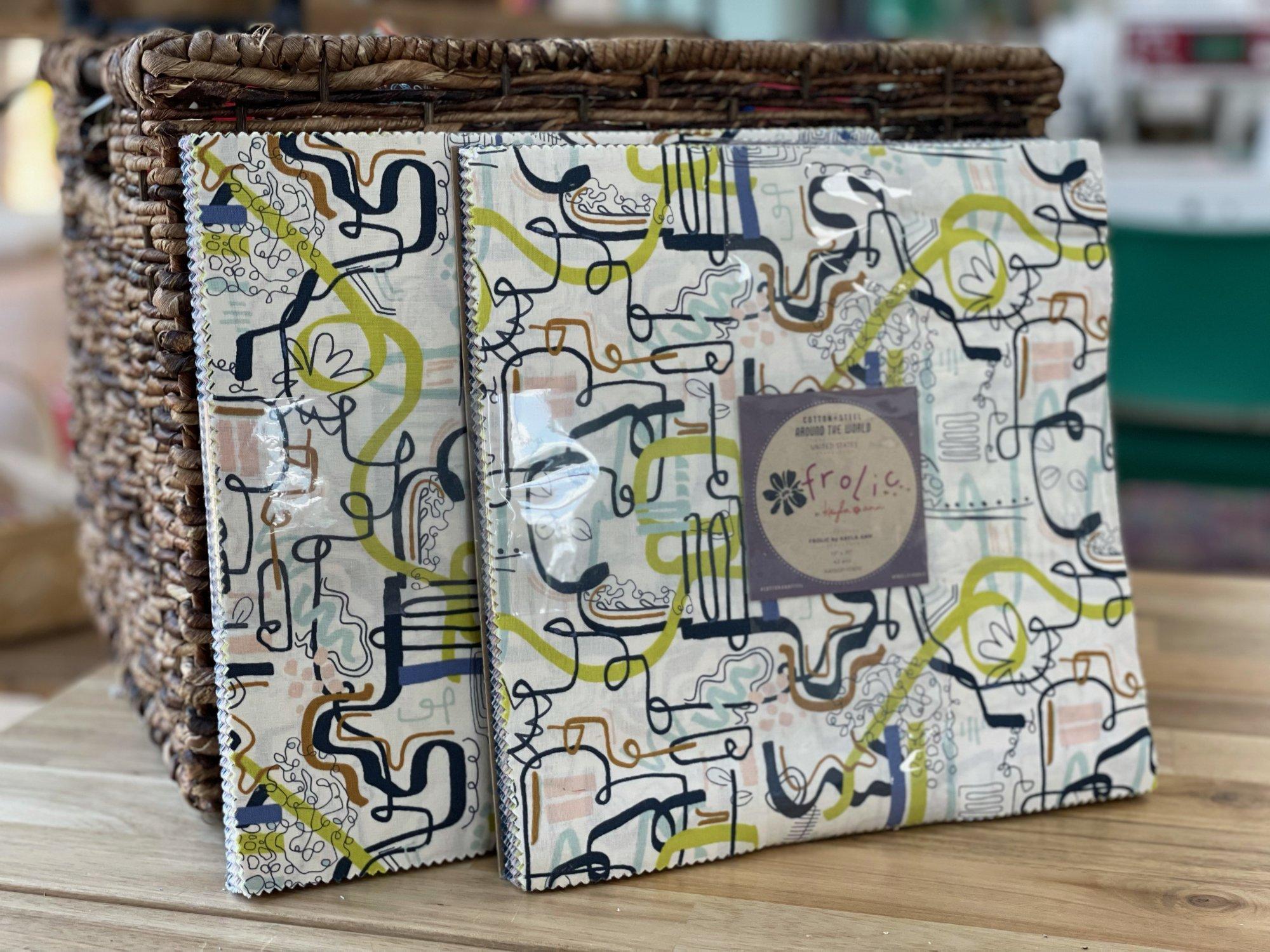 Cotton + Steel - Frolic Collection by Kayla Ann - 42 Piece 10x10 Layer Cake - KA100P-10X10