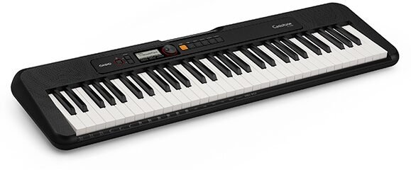 Casio Casiotone CT-S200 61-key Portable Arranger Keyboard - Black