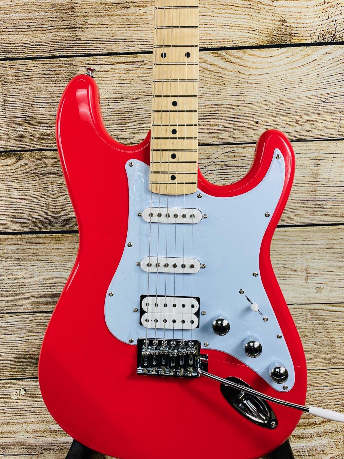 Kramer Focus VT-211S Electric Guitar - Red