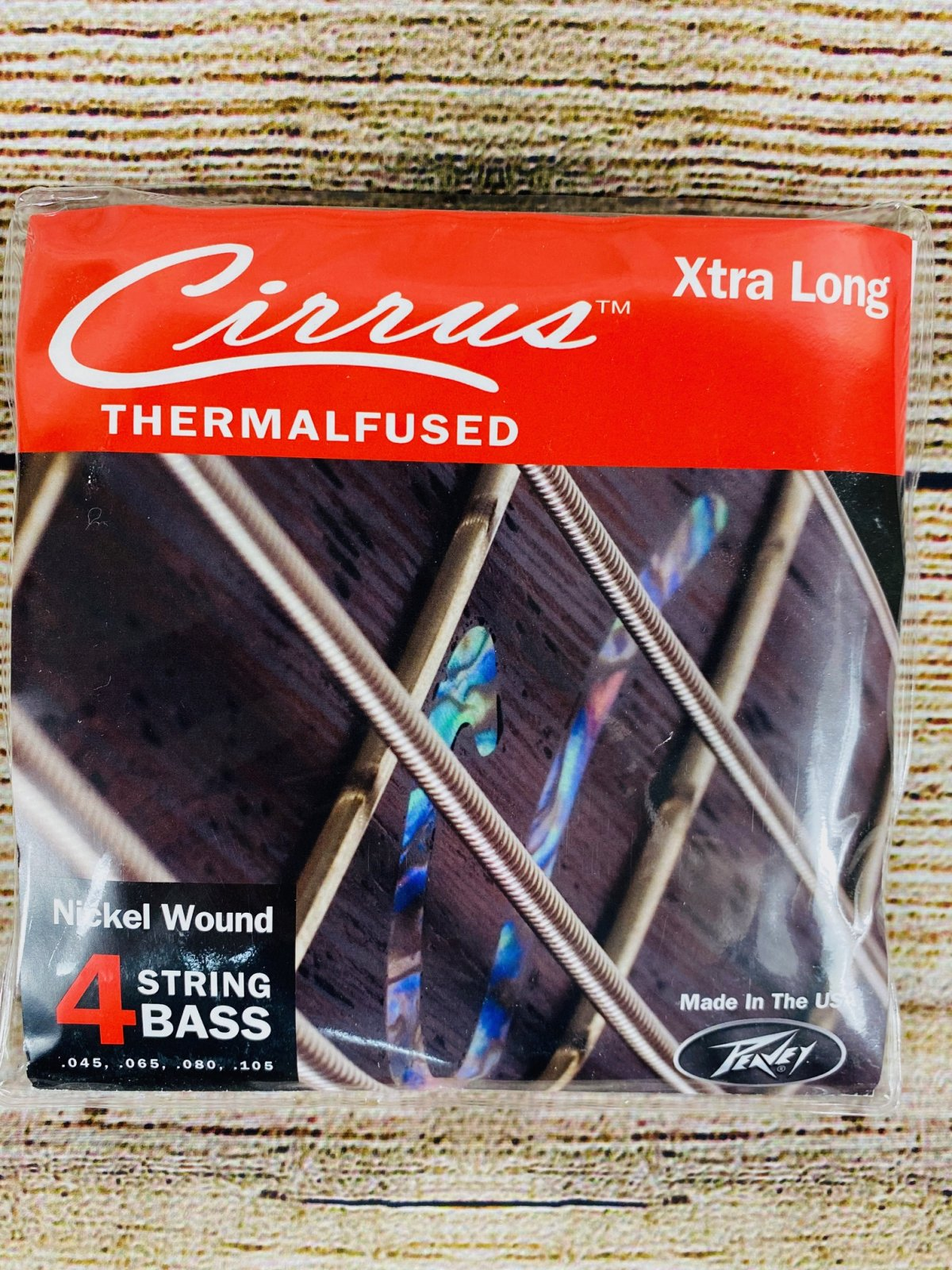 Peavey Cirrus 4XL Nickel-Wound-Extra Long Bass Strings